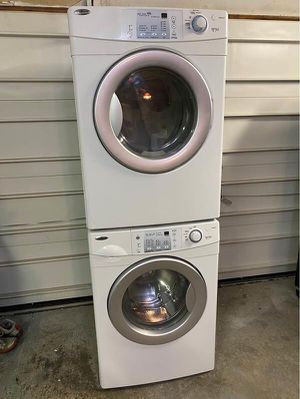 Newer Amana Gas Heavy Duty Super Capacity Washer & Dryer Set Cost $1,800 for Sale in Strongsville, OH
