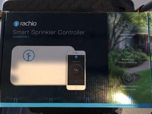 Rachio smart sprinkler controller generation 2 16 zones for Sale in Peoria, AZ