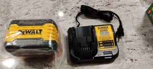 Brand New with charger! DeWalt DCB-609 9ah FlexVolt 20V/60V battery (Second Generation) for Sale in Falls Church, VA
