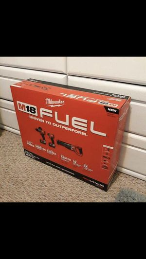 M-18 Fuel 3 took kit - Sawzall, Drill, Impact, 2 batteries, 2 chargers for Sale in WY, US