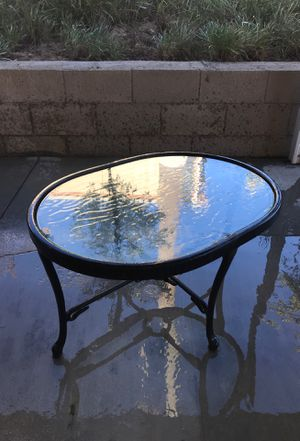 Small glass table for Sale in Riverside, CA