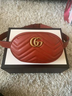 Red Gucci Belt Bag | Worn 3 times! for Sale in Arcadia, CA