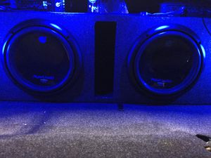 10 inch planet audio subs and 1000 watt matching amp !!! for Sale in Orting, WA