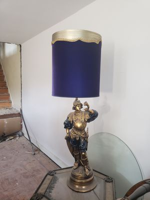 Roman Inspired Antique Lamp for Sale in Washington, DC