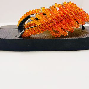 Orange Is The New Beautiful Sandal for Sale in Frederick, MD