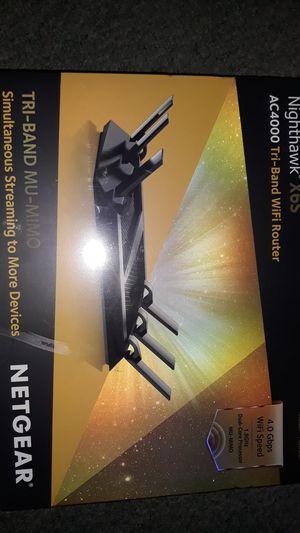 Nighthawk X6S Netgear WIFI Router for Sale in Oakland, CA