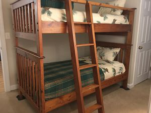 Bunk beds with mattresses for Sale in Gainesville, VA