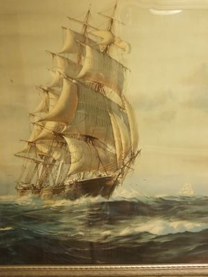 Antique clipper ship for Sale in OLD ORCHD BCH, ME