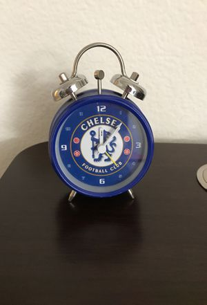 Chelsea FC Fancy clock with Alarm for Sale in San Diego, CA