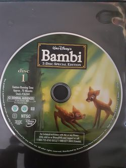 Bambi movie for Sale in Riverside,  CA