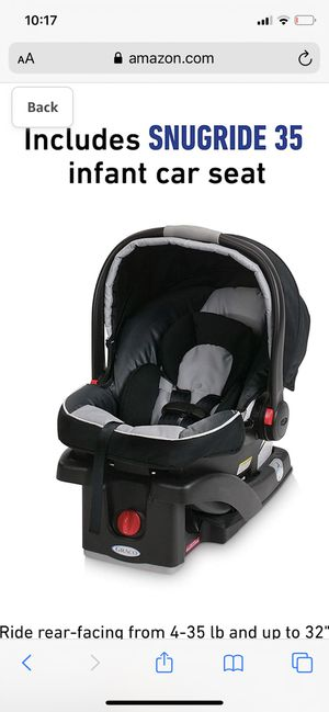 Graco SnugRide 35 Click Connect Infant Car Seat for Sale in Queen Creek, AZ