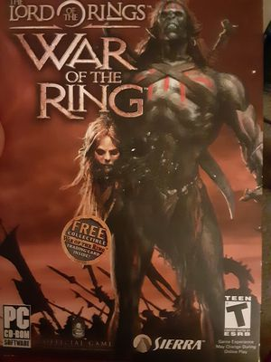 Lord of the ring war of the ring pc for Sale in Tacoma, WA