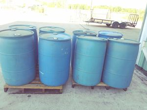 55 gallon drums for Sale in Houston, TX