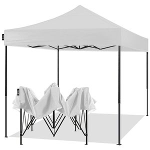 10x10 Pop Up Canopy Tent Portable Easy Up Outdoor Market Restaurant Canopy Shelter Red, White Or Blue for Sale in Ontario, CA