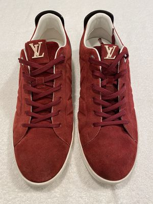 Louis Vuitton Fuselage Maroon Suede Low-Top Sneakers for Sale in Tempe, AZ