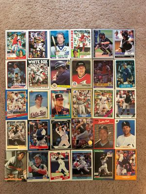Baseball Cards - Carlton Fisk for Sale in South Brunswick Township, NJ