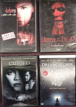 Horror and Suspense DVD Movies Only $1 each for Sale in Columbus, OH