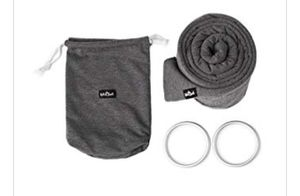 4 in 1 Baby Wrap Carrier and Ring Sling by Kids N' Such | Charcoal Gray Cotton | Use as a Postpartum Belt and Nursing Cover with Free Carrying Pouch for Sale in Brooklyn, NY