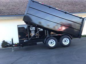 2019 Dump Trailer 5x12x4 for Sale in Lake Elsinore, CA