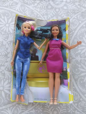 2 News Reporter Barbies for Sale in Westminster, CA