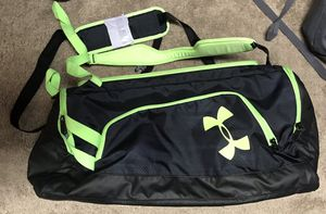 Under Armour Duffle Bag/ Back pack for Sale in Tampa, FL