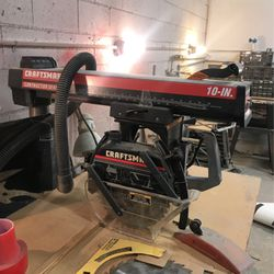 Craftsman 10-in. Contractor Series Radial Arm Saw with Mobile Stand for Sale in Henderson,  NV