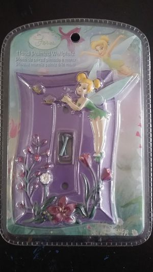Tinker Bell wallplate light switch for Sale in Miami, FL