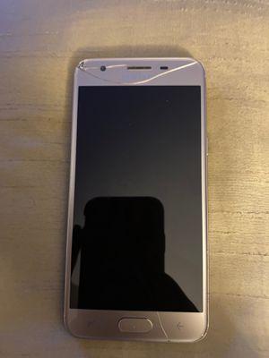 Samsung J3! (Cracked screen) for Sale in Gresham, OR