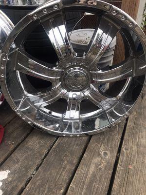 22 inch rims for Sale in Tacoma, WA