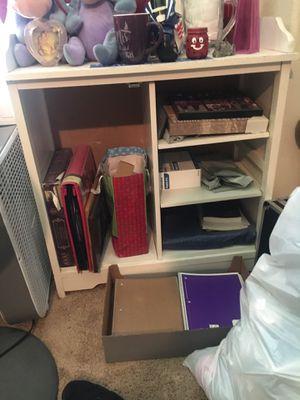 Small white shelf for Sale in Wildomar, CA