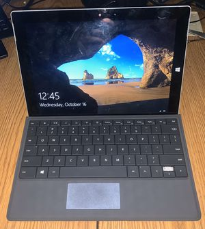 Microsoft Surface 3 w/ Keyboard for Sale in Coventry, RI