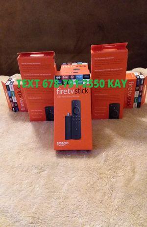 All New Unlocked Amazon Fire TV Stick w/ Voice+Volume Remote for Sale in Atlanta, GA