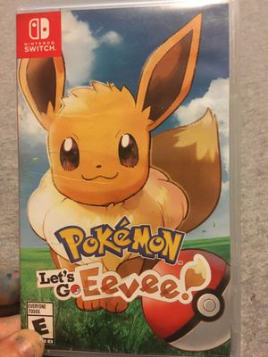 Pokémon Let's Go Eevee for Sale in Grove City, OH