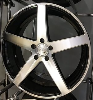 "LENSO DEAL! New 20"" Machined Silver 1AV Concave Five Spoke Rims Wheels 5x4.5 Accord Altima Camry 20x9 for Sale in Tampa, FL"