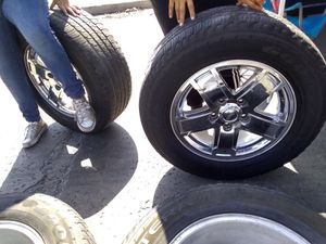 Jeep chrome wheels for Sale in San Diego, CA
