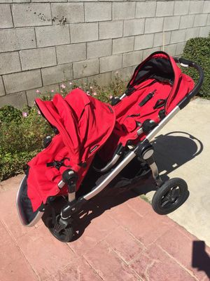 City select baby jogger double stroller for Sale in Monterey Park, CA