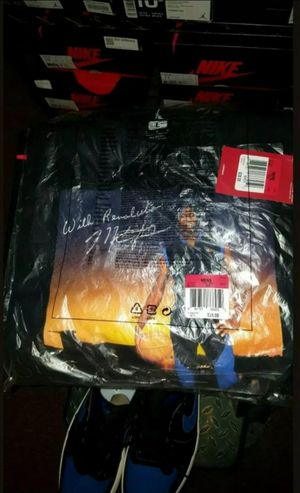"Air Jordan ""MJ Mondays"" Royal or Royal toe 👕.. Sz Lg.. (2 shirt) for Sale in Philadelphia, PA"