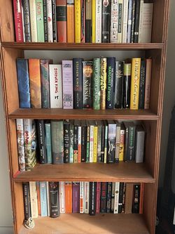 Natural Wood Bookshelf for Sale in Long Beach,  CA