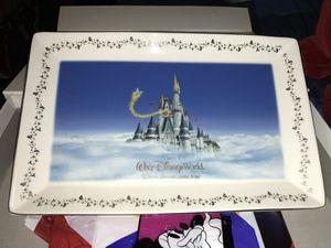 Disney castle plate for Sale in Bolingbrook, IL