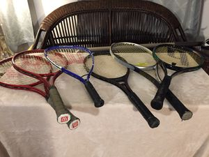 Tennis rackets for Sale in Braintree, MA
