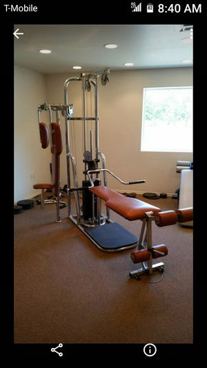 Universal home gym multiple stations mint never used for Sale in Fresno, CA