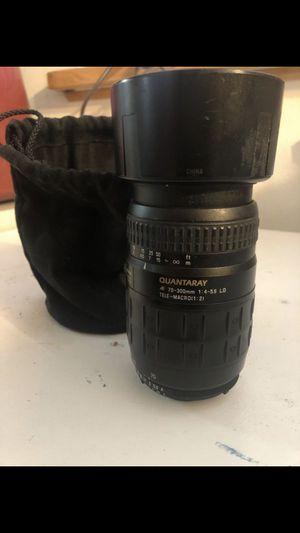 Quantaray Camera Lens for Sale in San Bernardino, CA