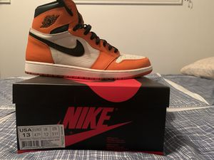 Men's Jordan 1 reverse shattered backboard sz 13 for Sale in Los Angeles, CA