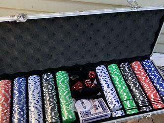 Poker Set for Sale in Modesto,  CA