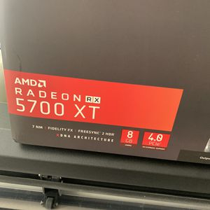 Xfx Rx 5700 Xt Thicc iii Graphic Card, Gpu Brand New for Sale in Roseville, CA