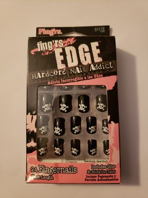 Black Halloween nail with skulls for Sale in Joplin, MO