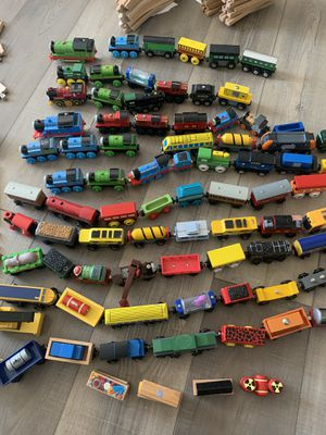 Huge 450+ Thomas and Friends Wooden Train Set for Sale in Spring Hill, TN