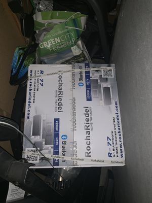 Home entertainment system for Sale in Manteca, CA