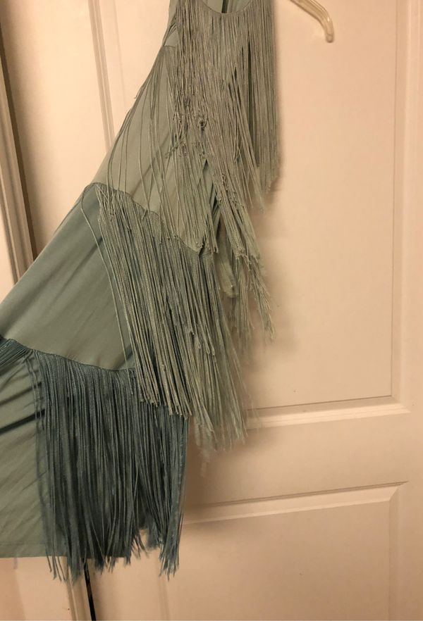 ZaraTrafulic flapper fringe dress