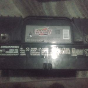 Interstate R/V /Truck Battery Less Than 1 Year Old Works Great for Sale in San Bernardino, CA